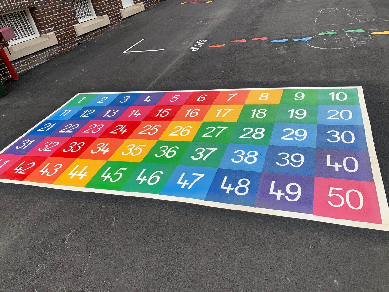 Number Grid 1-50