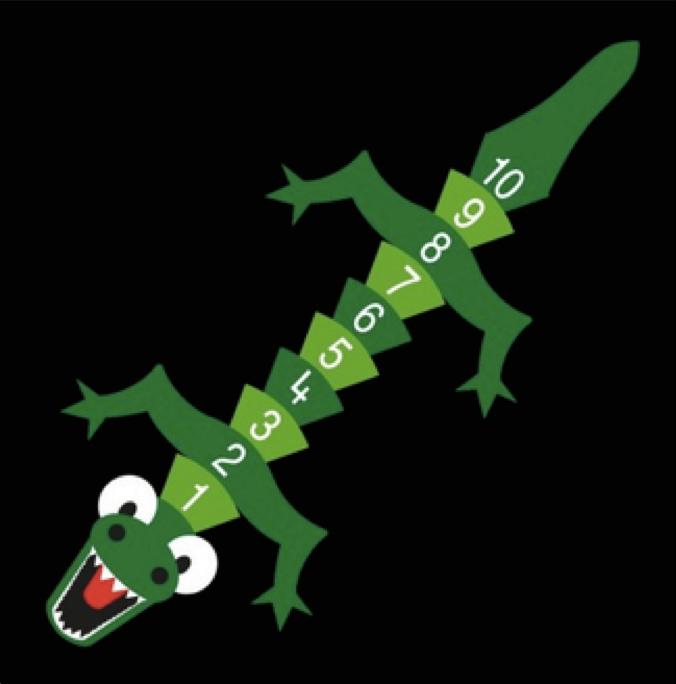 Crocodile 1-10