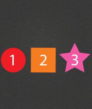 Number or Alphabet Shapes